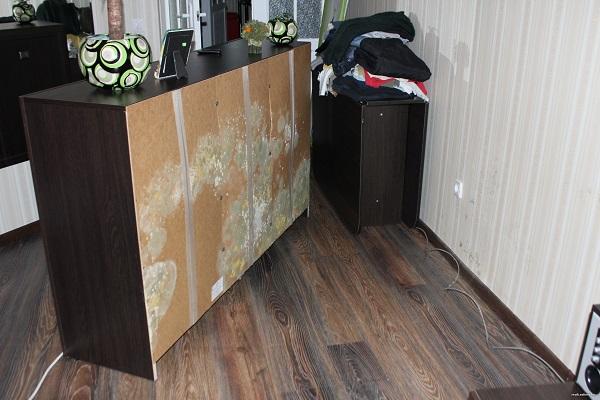 Чем обработать мебель от грибка