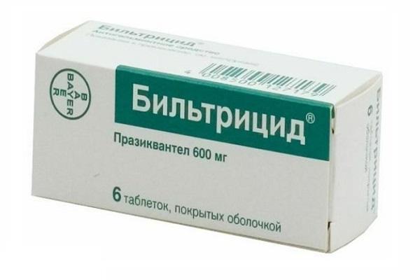 лечение дифиллоботриоза бильтрицидом