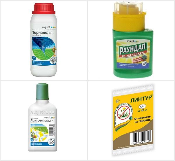 гербициды от одуванчика